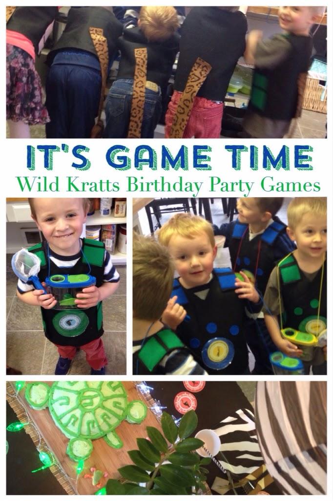 Groovy Wild Kratts Birthday Party Games And Tutorials Karins Kottage Personalised Birthday Cards Akebfashionlily Jamesorg