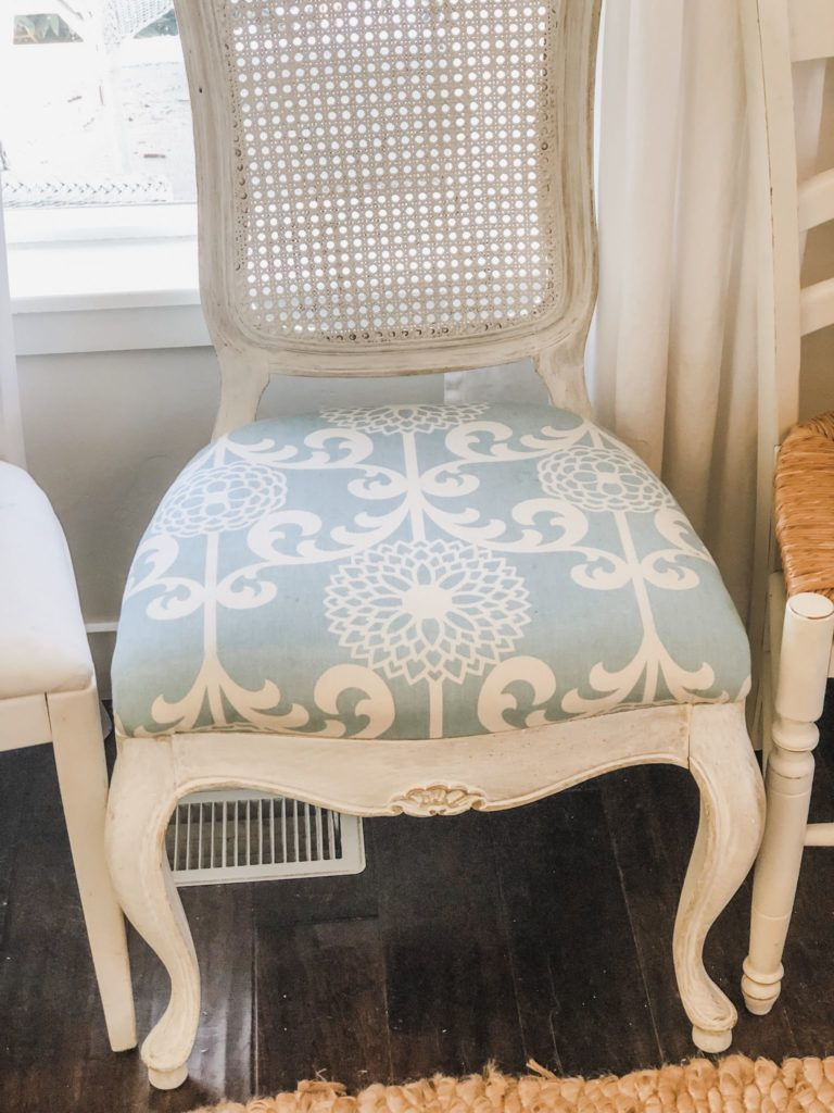 How To Recover A Dining Room Chair Seat Karins Kottage