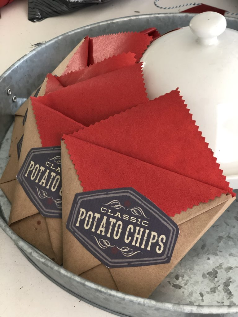 Make Your Own Old Fashioned Paper Snack Bags - Karin's Kottage